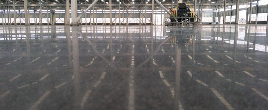 混凝土装甲地坪施工