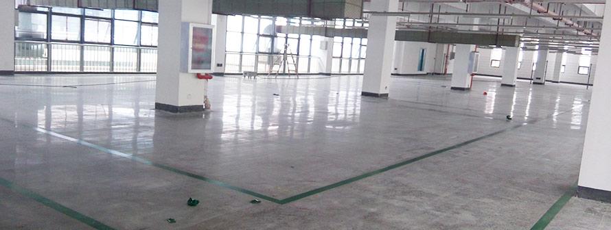 武汉双汇食品厂金刚砂耐磨地坪施工
