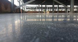 再烂的地坪遇到德立固地面固化剂也能瞬间秒硬