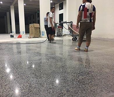 江苏三A级群英针织厂地坪起砂处理剂改造装甲地坪