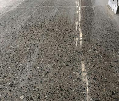 常德固化地坪施工拯救破损严重车间地坪