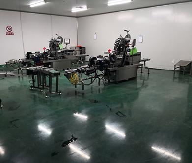 湖北太子药业环氧地坪改造成耐磨固化剂地面