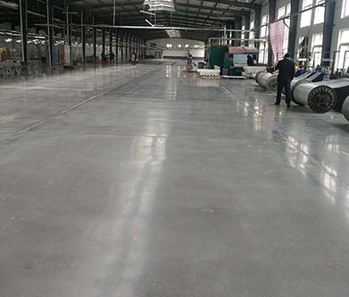 【辽宁】双鹤药业厂房使用水泥渗透改造耐磨环保的健康地坪