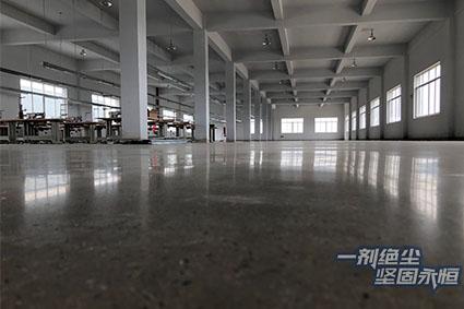 工程案例 | 翊山电器厂改造7000方楼面装甲,连边角处理也很完美!