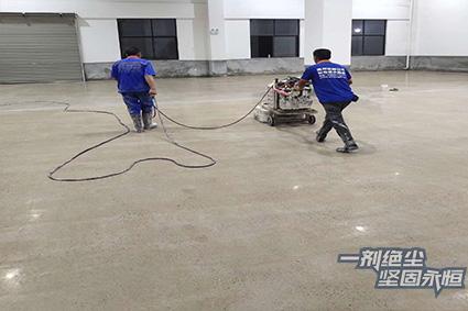 工程案例 | 厂房改造装甲地坪,台州天泉科技公司联盟浙江德立固
