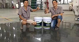混凝土密封固化剂提高地坪硬度耐磨度