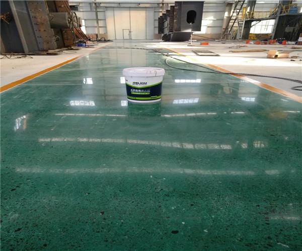 混凝土密封固化剂地坪的性能特点
