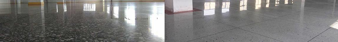 德立固水磨石装甲地坪